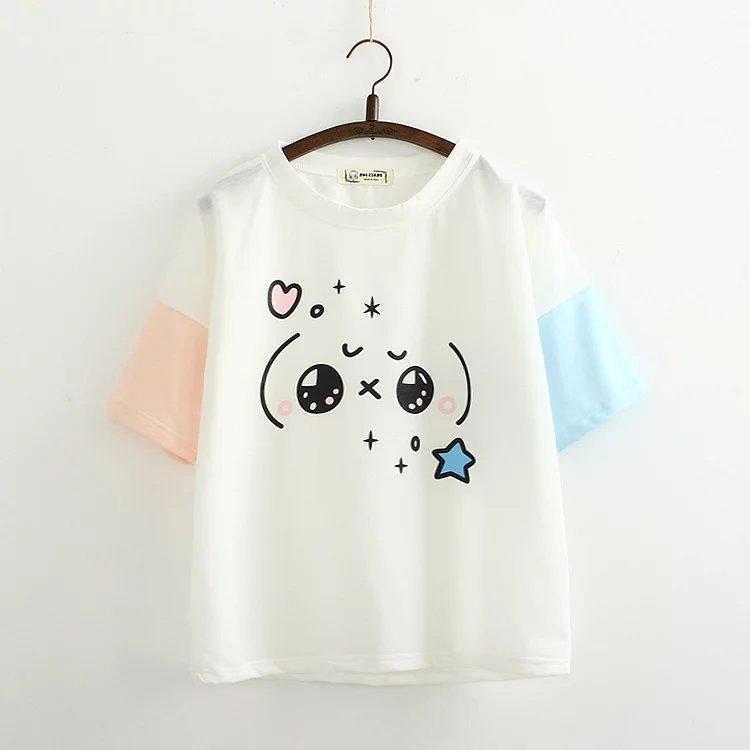 2019 nueva camiseta de moda para mujer, camiseta de manga corta con letras impresas, camiseta femenina