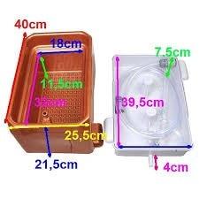 Foot Wash basin Bath Basin Foot spa Wudu Ablution Aparatus washtube bowl washbowl washbasin washbasin dolly tub enlarge