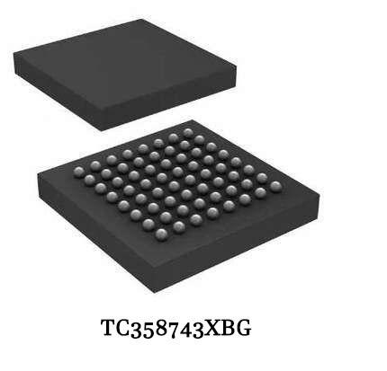 شبكة كرات مصفوفة TC358743XBG, شبكة كرات مصفوفة 358743G