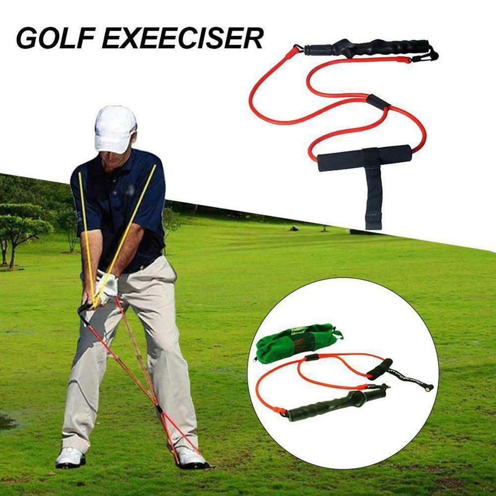 1pc Golf Swing Tension Belt Band Golf Swing Trainer Strong Correction Action Strength Trainer Club D