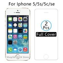 Coque pour iphone 5 s se 5 5c housse verre trempé sur i phone 5 s e c es s5 c5 coque de protection décran iphone5 iphone5s iphone sac