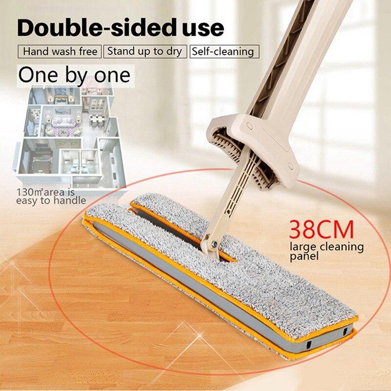 Dwustronne nie prać ręcznie płaskie mopy mop do czyszczenia tkaniny z mikrofibry wymienić tkaniny rzut ścierka do mopa czyszczenia narzędzi