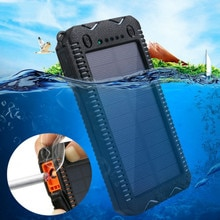 80000mAh Solar Power Bank High-Capacity Phone Charging Power Bank with Cigarette Lighter Double USB