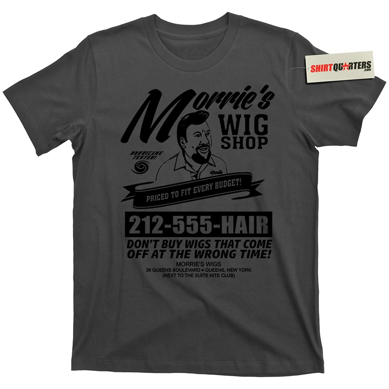 2019 New Summer High Quality Tee Shirt Morrie's MORRIES Wigs Wig Shop Goodfellas Movie Mobster Mafia T Shirt Cool T-shirt