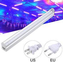 LED parti ışıkları 5W DJ UV LED sahne ışıkları mor disko ışık/Off anahtarı kontrol etkisi küçük parti KTV sahne aydınlatma