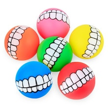 Резиновая собака мяч-пищалка игрушка для собаки животное виниловая Кричащие зубы игрушки Хаски средняя Большая Собака Обучение жужевание измельчение зубы игрушка