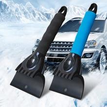 Véhicule pare-brise pare-brise voiture déneigement pelle balayeuse verre dégivrage glace grattoir dégivrage brosse nettoyage hiver outil