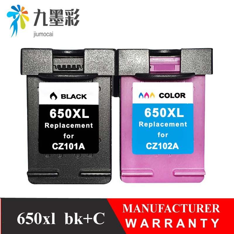 Cartucho de tinta 650XL de repuesto para hp 650 hp 650 xl Deskjet serie 1015, 1515, 2515, 2545, 2645, 3515, 4645 impresora