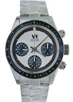 Automatic chronograph Watch Mechanical Panda Retro For 7750 Mens Luxury