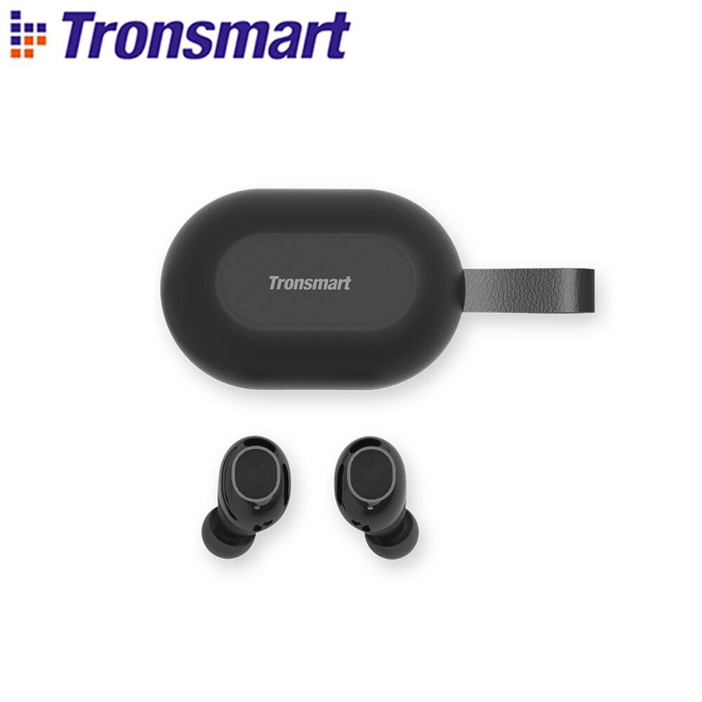 [Nueva versión]Tronsmart Spunky Beat valiente a Bluetooth inalámbrico verdadero auricular QualcommChip APTX...