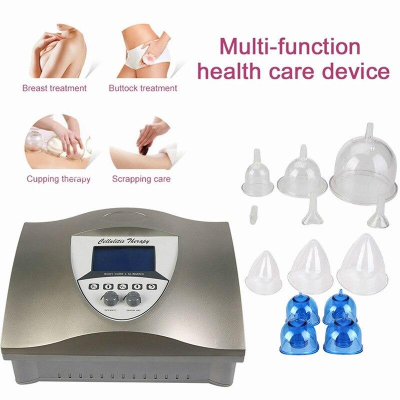 Gran oferta 2020 máquina de terapia al vacío levantadora de glúteos aumento de senos máquina de elevación de glúteos al vacío/bomba de vacío