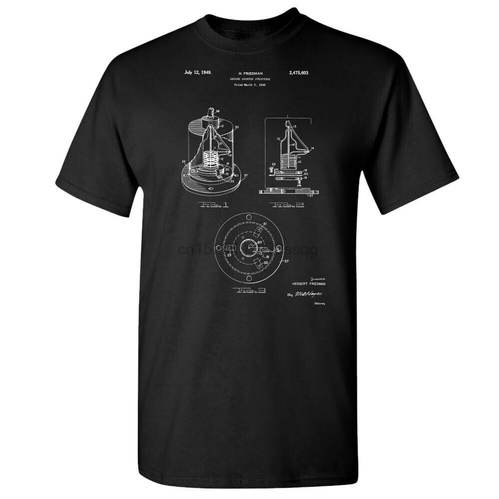 Geiger, contador de camisa, regalo de físico, Detector de radiación física, guerra fría