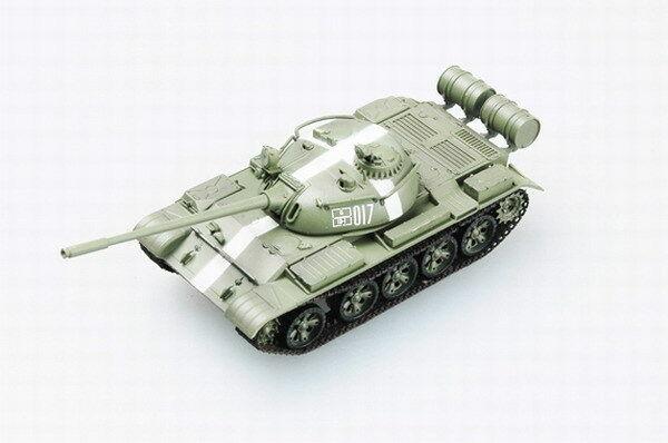 Tanque blindado para coche, modelo 35024 T-55 USSR 1968 en Praga, acabado maqueta Trumpeter 1/72 TH07690-SMT2