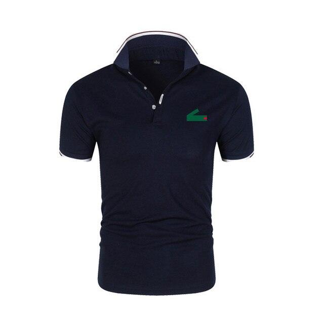 Новые мужские брендовые рубашки поло, мужские повседневные рубашки поло, мужские высококачественные рубашки поло с коротким рукавом