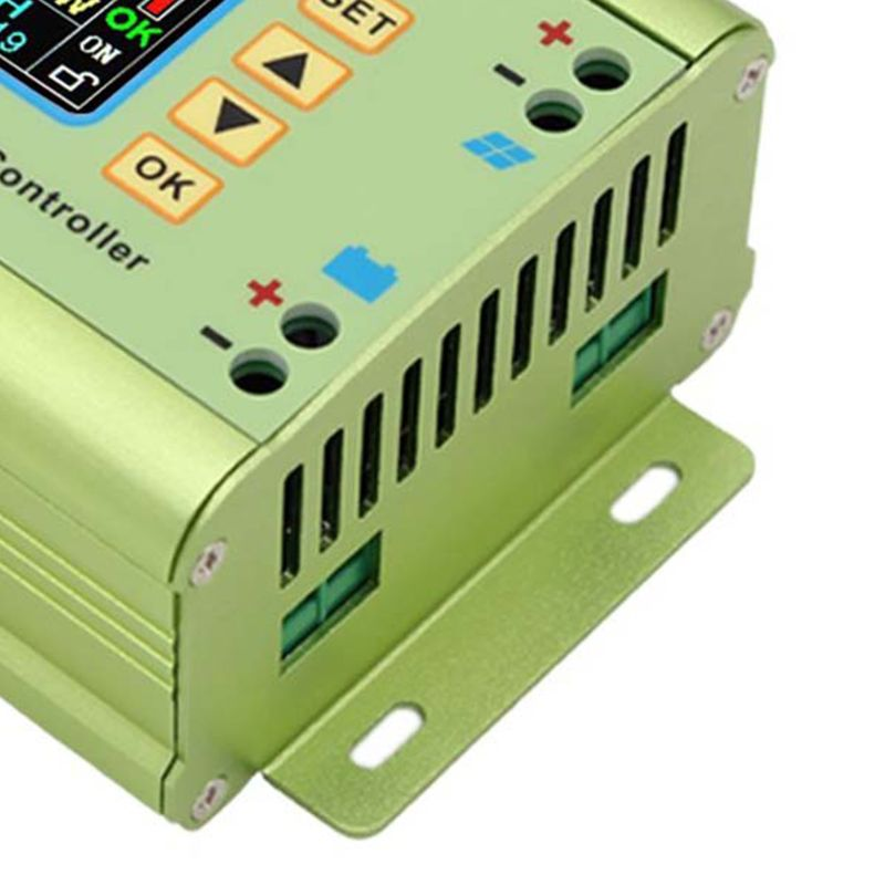 MPT-7210A LCD MPPT Solar Panel Charge Controller Aluminum Alloy for LiPo Battery