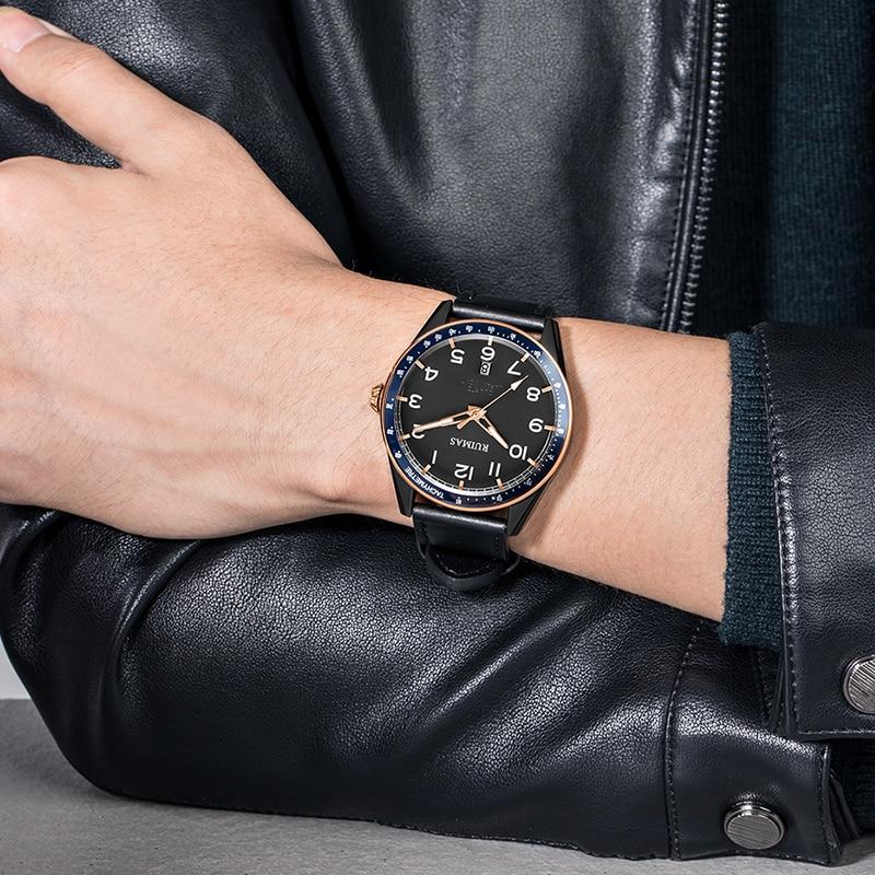 RUIMAS Designer Watch Men's Student Trend Black Technology Electronic Watch Quartz Men's Watch  RL573G