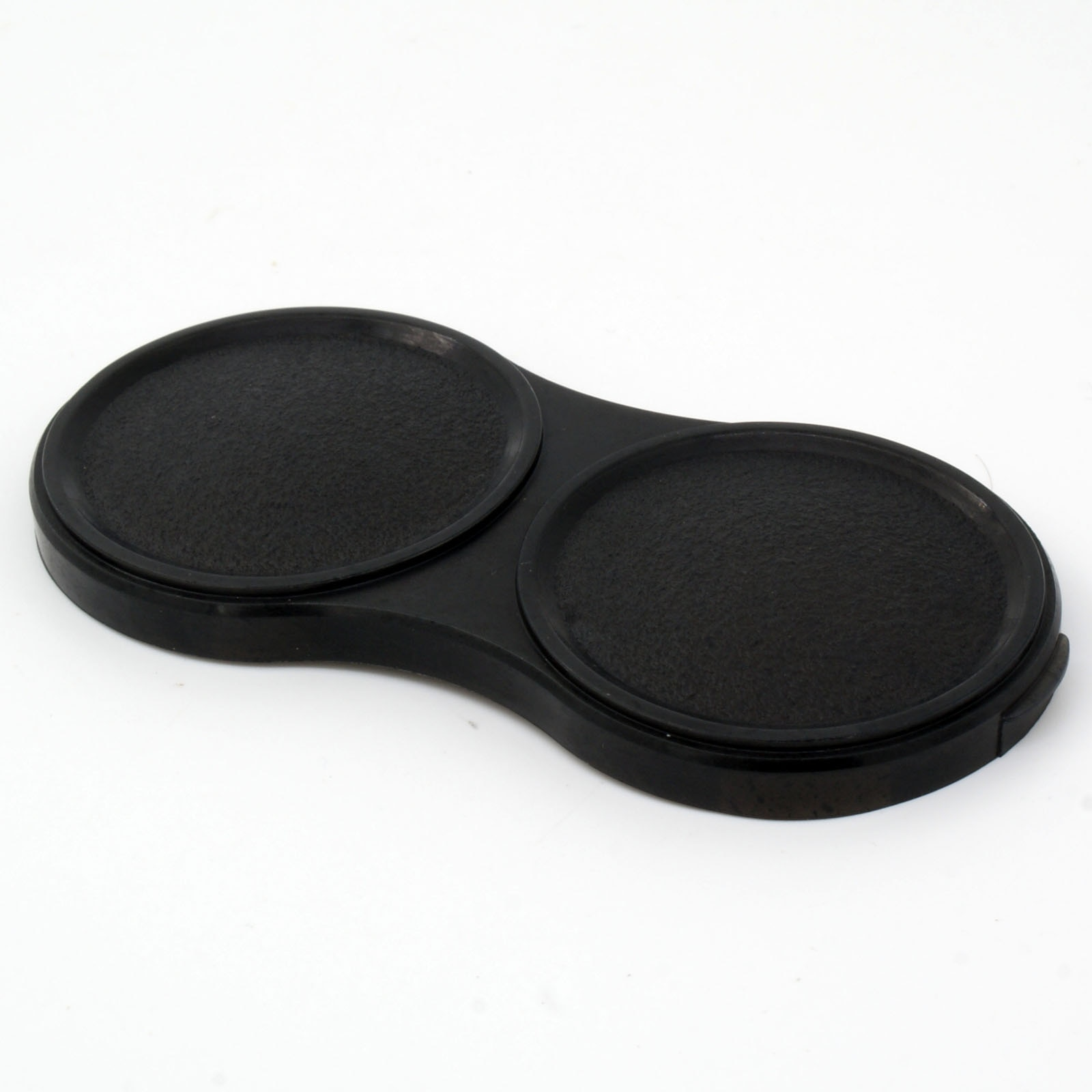 Tampões de lente duplos de plástico para autocord yashica 124 & 120 tlr câmera de formato médio