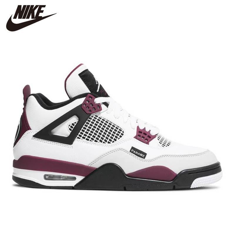 ¿Jumpman leal Azul? ¿Qué? Los AJ4 4s Zapatos De Baloncesto Paja Hombre...