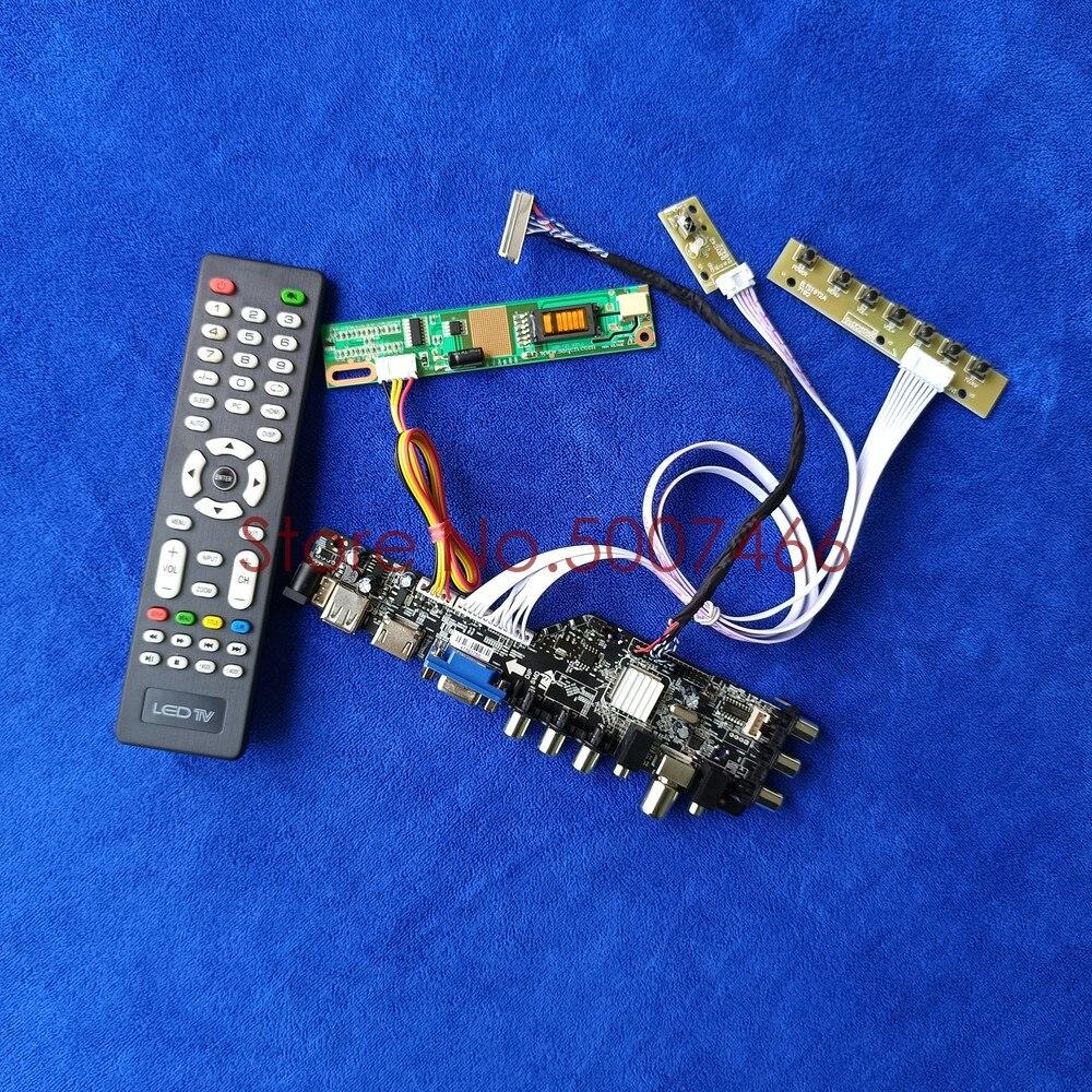 1280*768 30 دبوس LVDS 1CCFL مصفوفة محرك مجموعة اللوحة ل LTN140W1/HT140WX1/N140A1/LP140WX1/CLAA140WA01 DVB الرقمية USB VGA AV