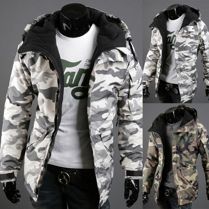 Осенне-зимняя мужская куртка, утепленные мужские куртки с хлопковой подкладкой, приталенные Молодежные зимние куртки и пальто с воротником...