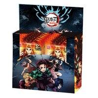 Demon Slayer Card TCG Game Cards Table Toys For Family Children Christmas Gift