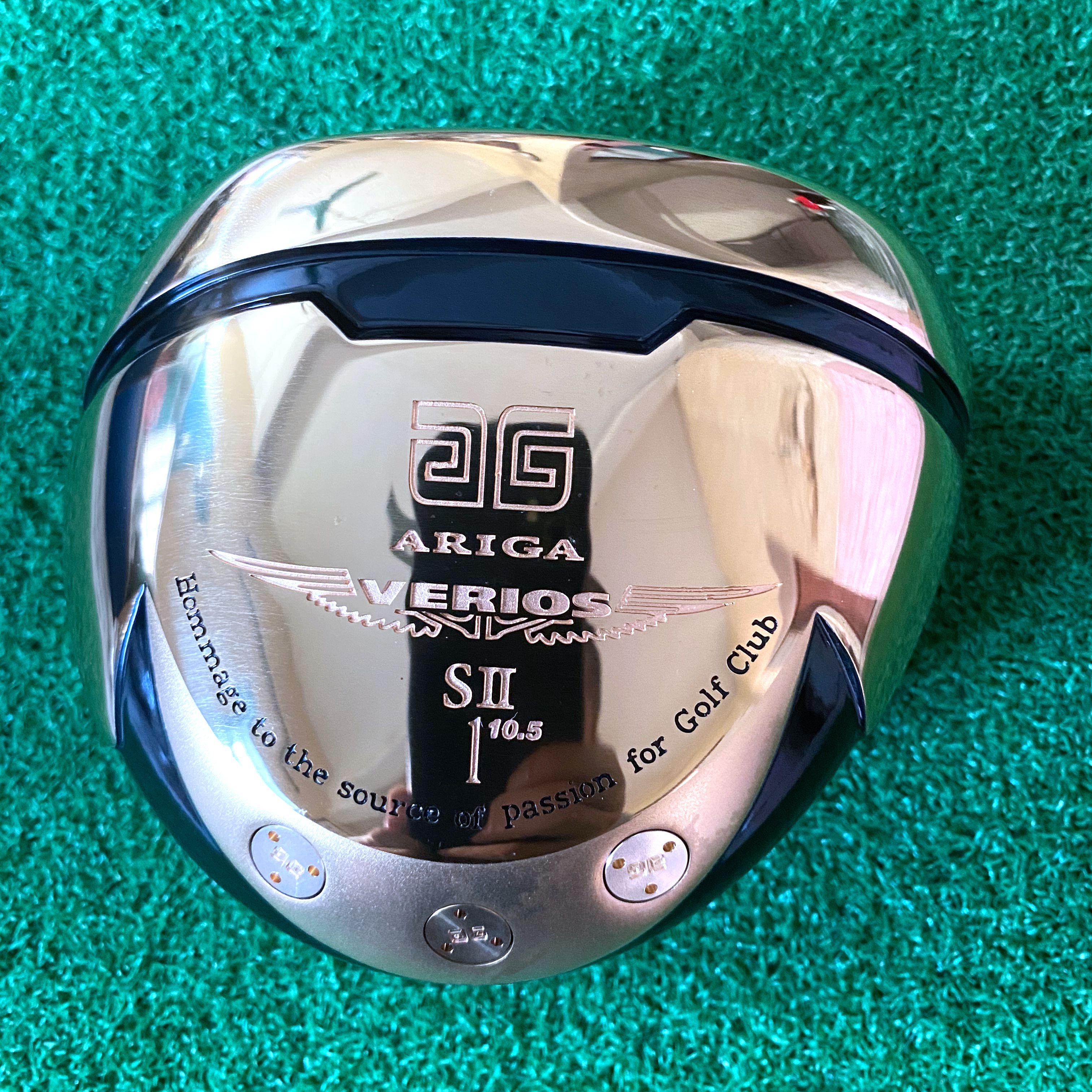 Men Golf Clubs Driver High Rebound Head  ARIGA Titanium Loft 10 Free Shipping No Golf Shaft