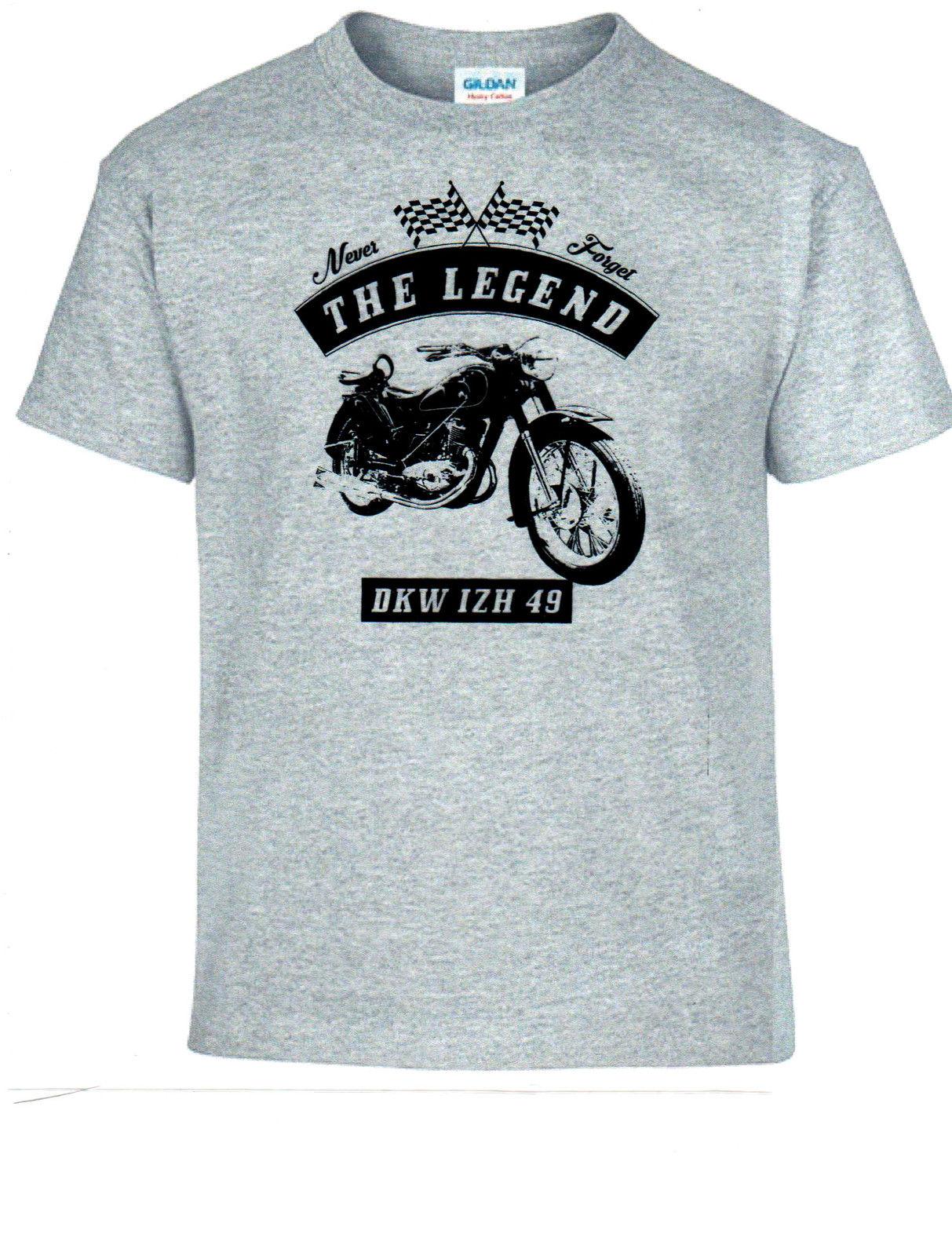 Camiseta, DKW IZH 49, bicicleta, motocicleta, Vintage, coches clásicos