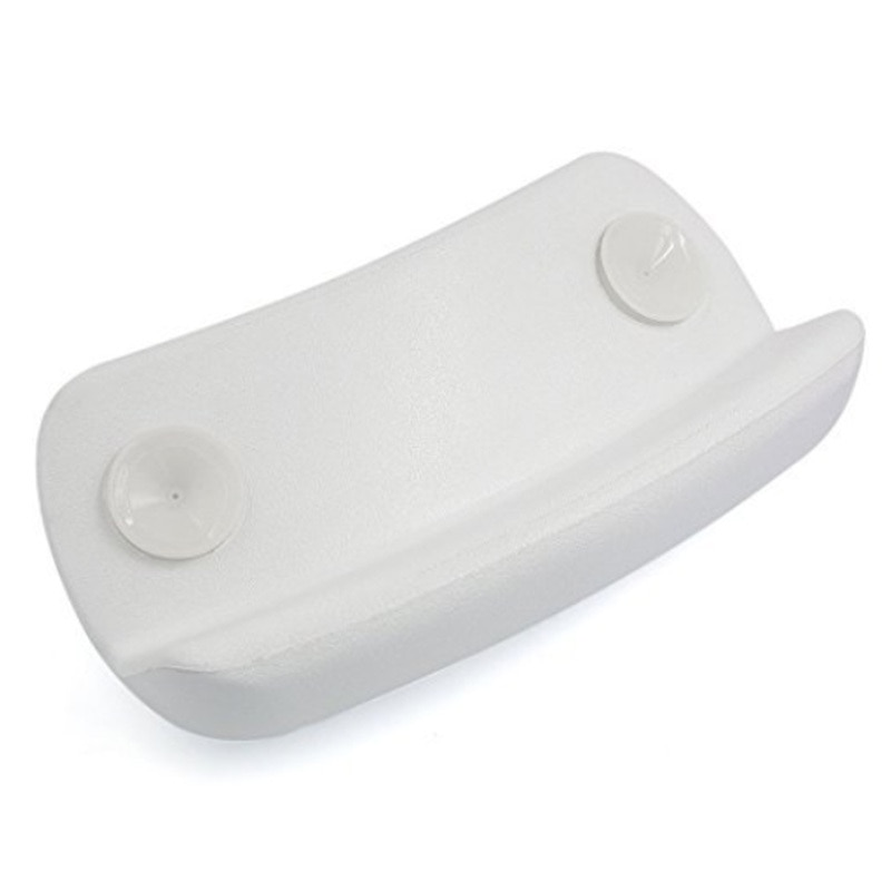 Cojín de baño SPA antideslizante, reposacabezas para bañera, almohadas de baño resistentes al agua con ventosas, fácil de limpiar, accesorios de baño