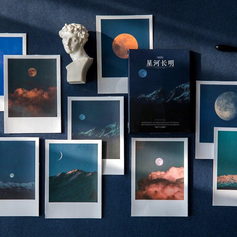 30-pz-lotto-romantico-scenario-serie-carta-di-lomo-fantasy-cielo-mare-paesaggio-nube-adesivi-di-carta-messaggio-di-carta