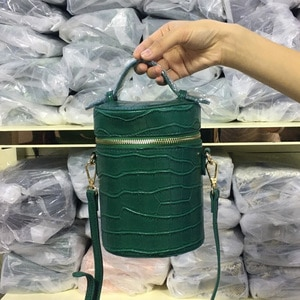 Fashion Tote Clutch Box Bag for Women Ostrich Patern Leather Shoulder Bag Ins Purse Bag Hot Sales