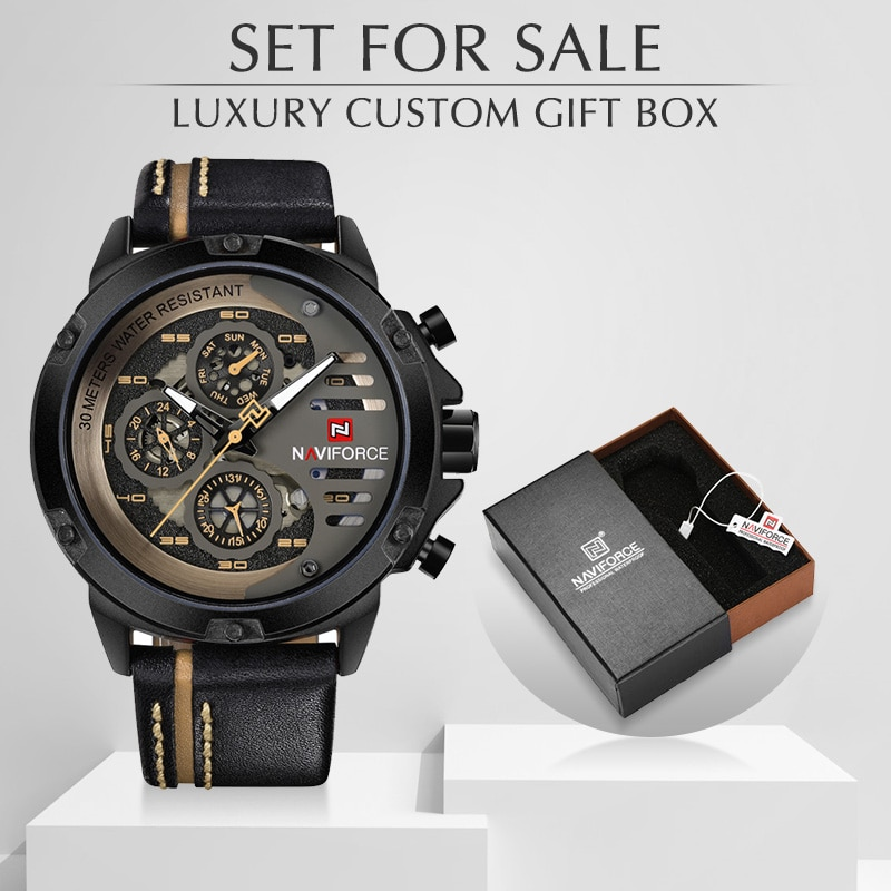 NAVIFORCE Fashion Top Brand Watches For Men Military Sports Quartz Watch for Man Luxury Male Clock Wristwatch Relogio Masculino military watches for men outdoor sports nylon quartz watch 2021 male fashion casual wristwatch male clock relogio masculino hot