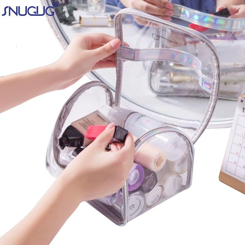 Женские косметические сумки на молнии SNUGUG прозрачный комплект