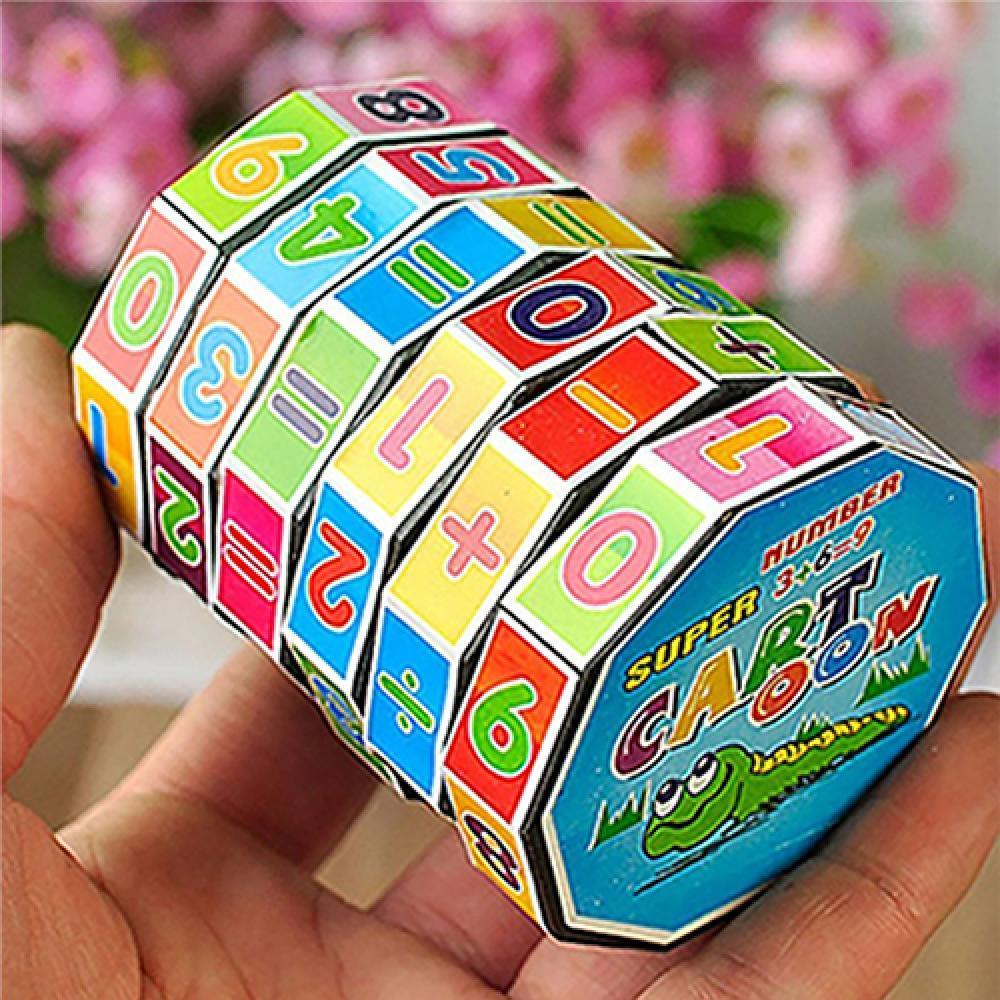 Игрушка-пазл детская развивающая, пазл с числами, математика, подарок