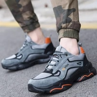 2021 indestructible sneakers male work shoes fashion safety shoes men anti smash anti puncture work boots men industrial shoes