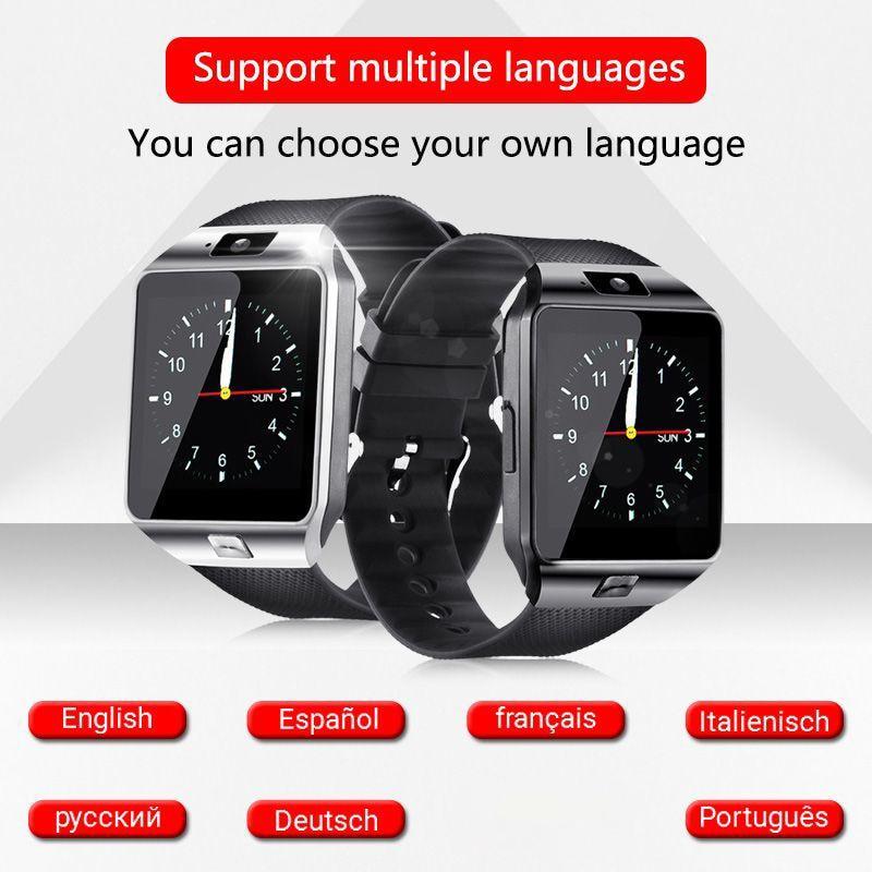 Smart Watch Dz09 Smart Clock Support Tf Sim Camera Men Women Sport Bluetooth Wristwatch For Samsung Huawei Xiaomi Android Phone enlarge