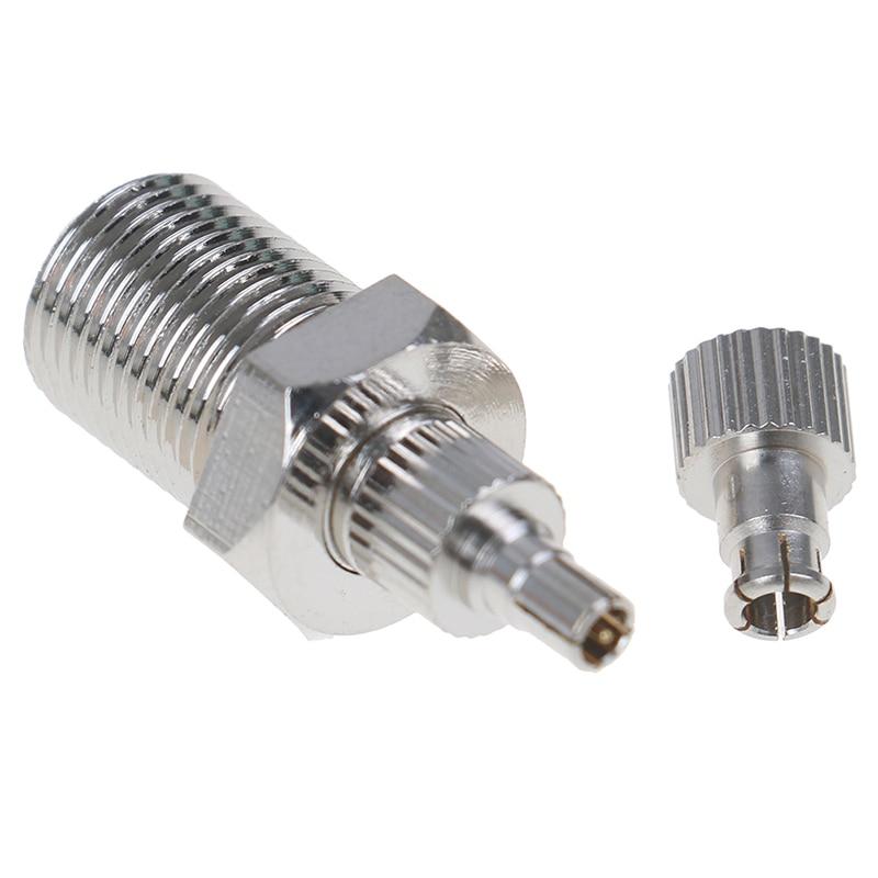 26mm F femelle à TS9 & CRC9 prise mâle adaptateur Coaxial connecteur RF nickelé