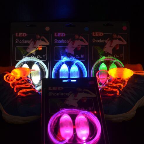 تضيء موضة LED مضيئة أربطة الحذاء فلاش حفلة متوهجة الأحذية سلاسل للبنين والبنات رائجة البيع