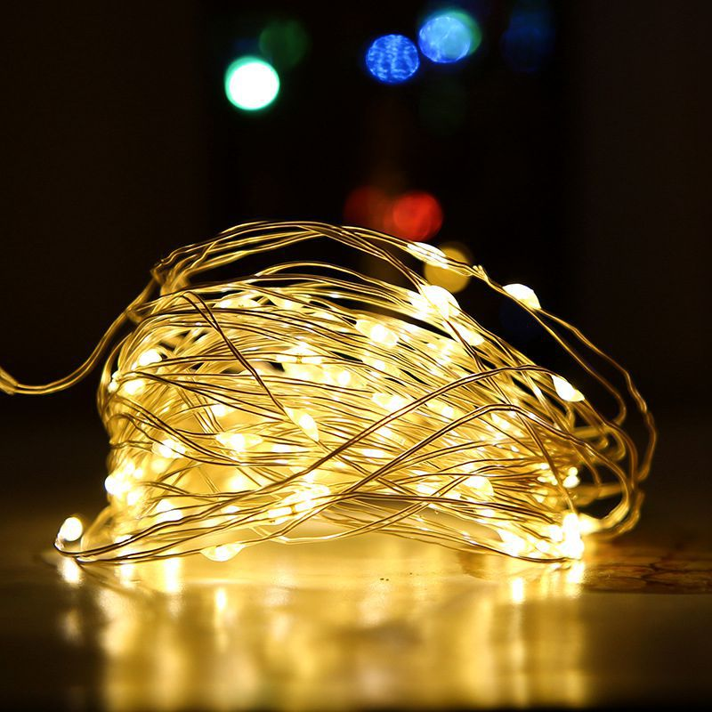 2/5/10M USB  Fairy Lights Copper Wire Garland Light Waterproof LED String Lights For Christmas Wedding Party New Year Decoration