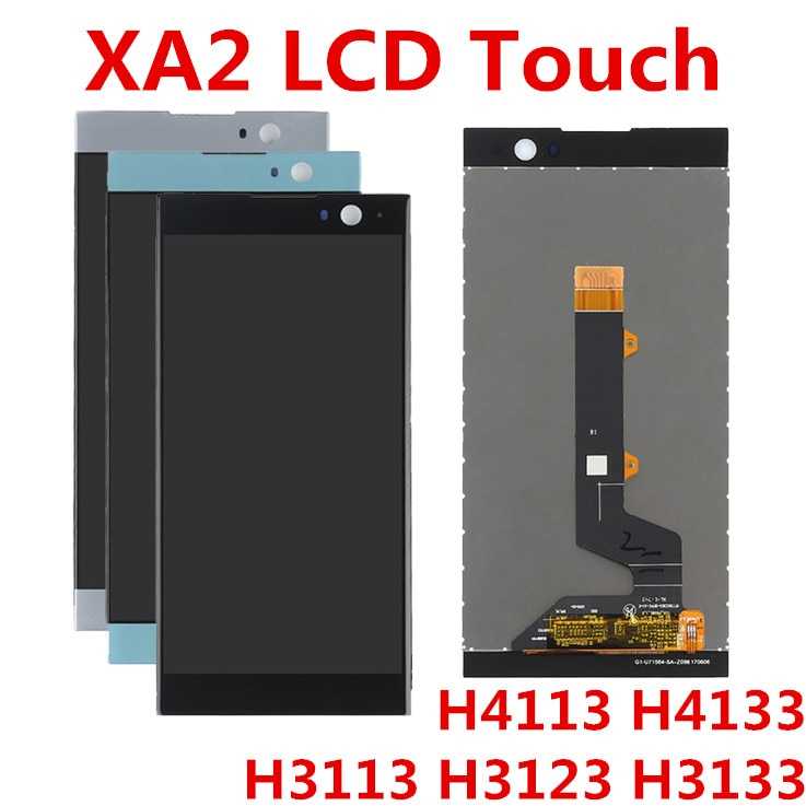JIEVER 5.2inch For Sony Xperia XA2 LCD Display Touch Screen Digitizer Assembly Replacement For SONY XA2 LCD H4133 H4131 H4132 недорого