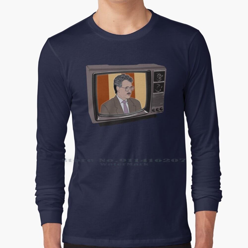 Heroes Of Quiz Shows : Vintage Alex Trebek ( 80s Jeopardy ) T Shirt 100% Pure Cotton Alex Trebek Jeopardy Pen Is Mightier James