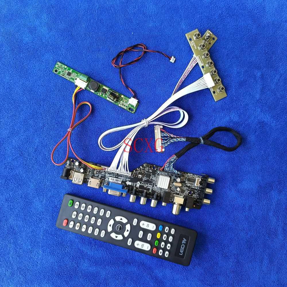 جهاز تحكم بالشاشة مجلس 1920*1080 LED ل LM215DT1A/LM215DT5A/LM215DT6A الرقمية إشارة USB AV VGA HDMI-متوافق عدة LVDS-30Pin