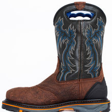Domineering Outdoor Boots Waterproof and Oil Proof Locomotive Boots Goodyear Boots Work Shoes Men  I