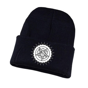 TV Black Butler Knitted hat Cosplay hat Unisex Print Adult Casual Cotton hat teenagers winter Knitted Cap