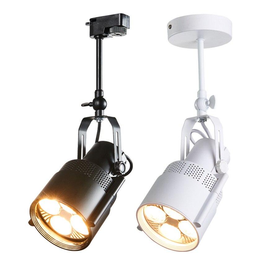 E27 LED النازل سطح شنت النازل 25 واط 35 واط LED مصباح السقف الصناعي لوفت LED أضواء المسارات المسار السكك الحديدية أضواء LED
