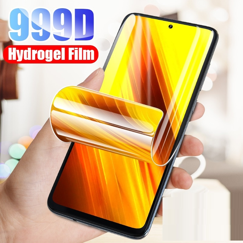 Full Cover Hydrogel Film For Xiaomi Redmi Note 9 8 7 5 6 9S 10 Pro Max Screen Protector Case For Red