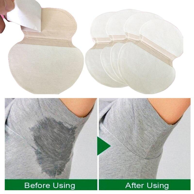 Desodorante para verano, 10/30/50/100 Uds., almohadilla para sudor y axila, almohadilla para sudor desechable para axilas, parches antisudor