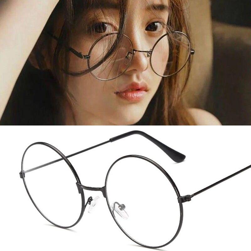 2020 винтажные очки, прозрачные очки, очки, большие черные круглые очки, оригинальные прозрачные мужские очки для чтения