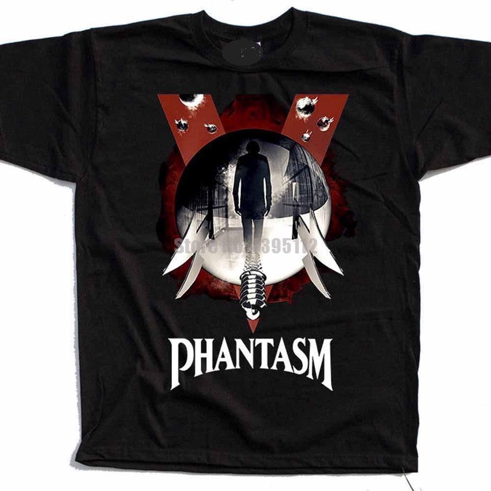 Entrega de camiseta de satã da polónia rokzfz das camisas de loki do homem do filme de phantasm
