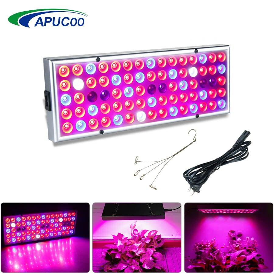25W Phyto Lampe Für Pflanzen Led Wachsen Licht Panel Volle Spektrum Fitolampy Wachsen Lampe Für Indoor Blumen Kräuter Gewächshaus wachsen Zelt