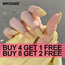 24pcs/Set Full Cover Fake Nails Art Tools Matte Press on Ballerina Acrylic for False Nail Tips with